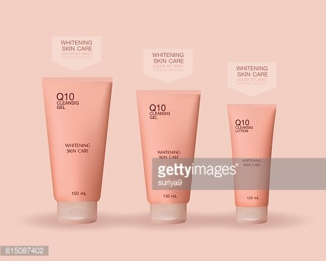 Lotion Packaging set Template Vector Illustration