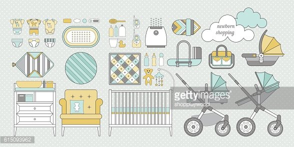 Newborn shopping boy 5