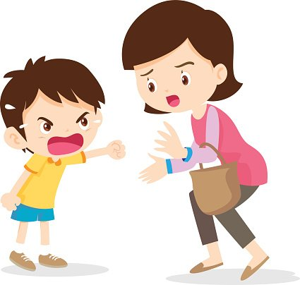 boy angry shouting with mother premium clipart sad little boy clipart sad little boy clipart