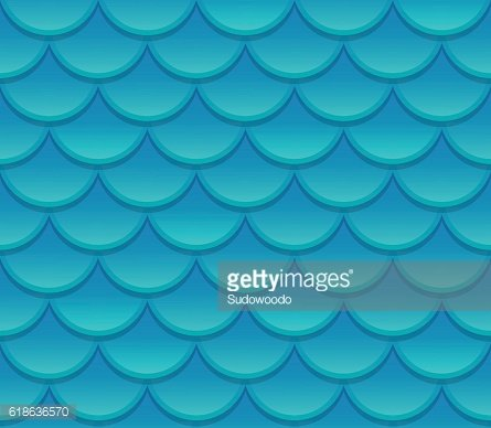 Seamless scale texture