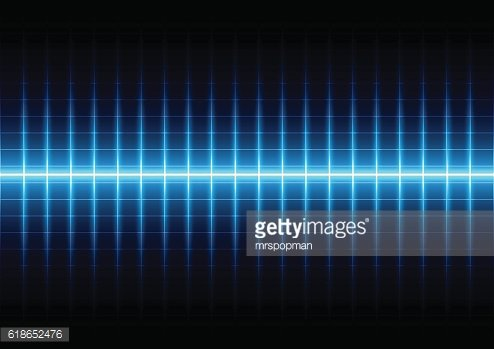Abstract blue light on grid background,illustration vector
