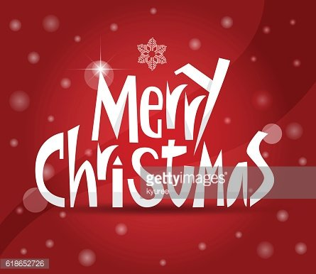 Merry Christmas greeting card D