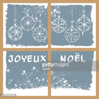 french christmas background