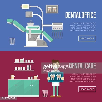 Dental office and care templates.