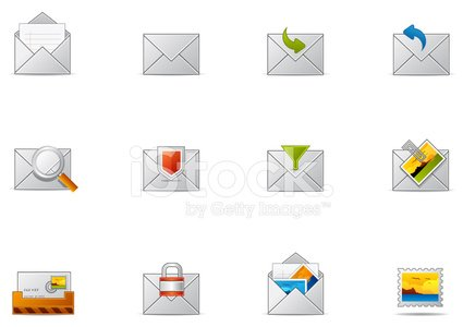 Pixio set #10 - E-Mail & -Kommunikation-Symbol
