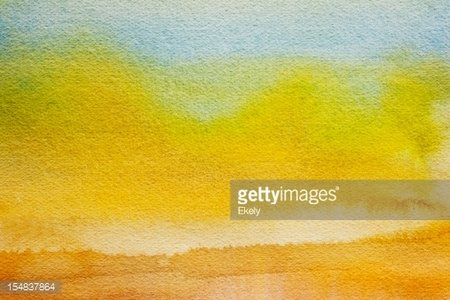 Abstract Painted Yellow And Green Art Backgrounds Clipart