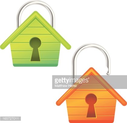 Home Security Systems From Symspire - Home Security Icon - Free Transparent  PNG Clipart Images Download