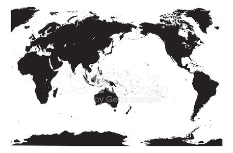 Accurate Vector World Map [detailed]