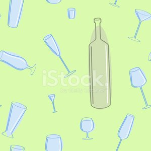 Vector seamless of blue glasses