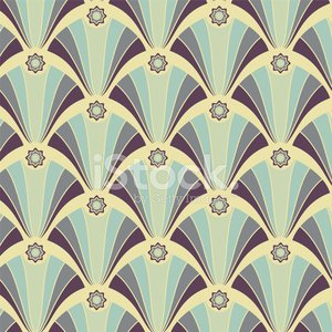 Seamless geometric pattern in yellow-violet colors
