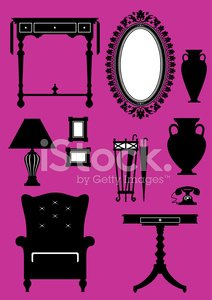 Classical Household Objects Set