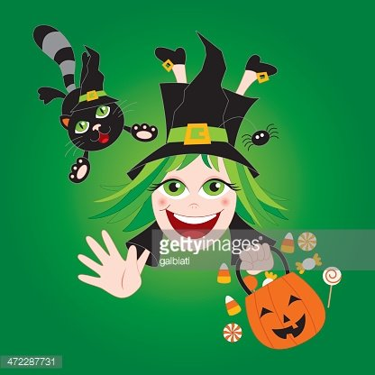 Halloween: witch