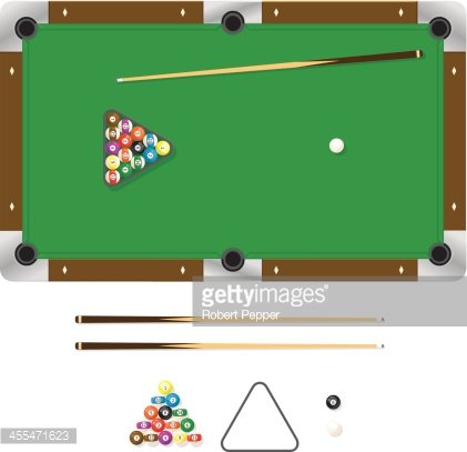 Pool Table Premium Clipart