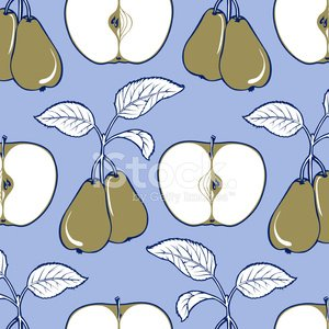 apple and pear background