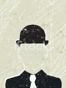 Businessman with no Face