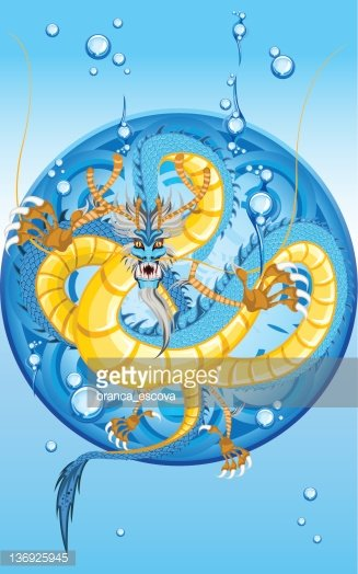 chinese water dragon new year