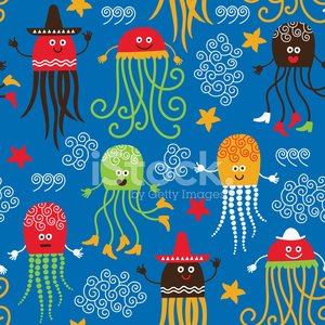 Funny octopuses