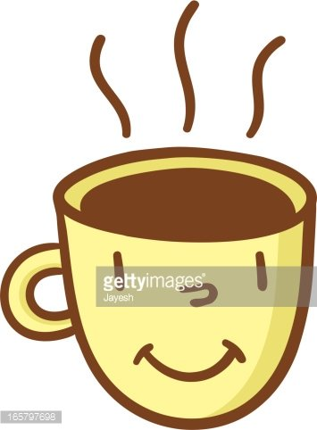 Happy Cup Of Coffee