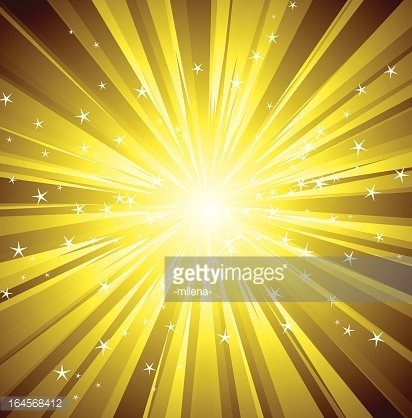 backgrounds made up of golden rays of light