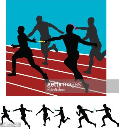 Relay race Sprint Track & Field, baton transparent background PNG clipart |  HiClipart