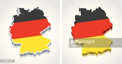 Map Of Germany 3d.3d Map Of Germany Flag Premium Clipart Clipartlogo Com