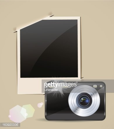 photo frame and camera eps10