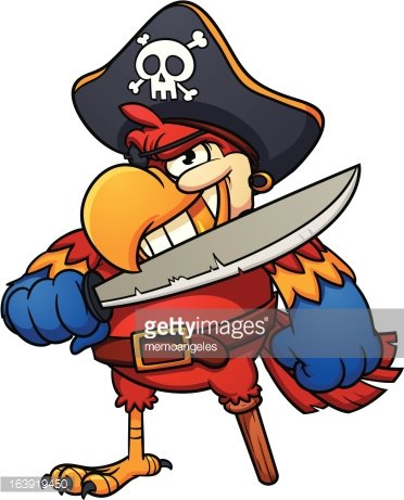 Piraten Papagei Clipart Image 1 566 198 Clip Arts