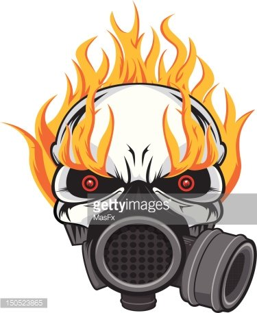 21+ Skull With Gas Mask Clipart Gif