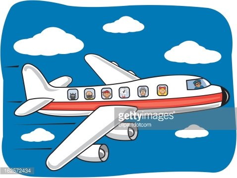 Flying Airplane Cartoon Clipart 1 566 198 Clip Arts