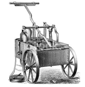 Lever fire engine