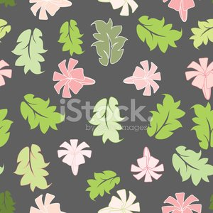 beautiful flower seamless pattern