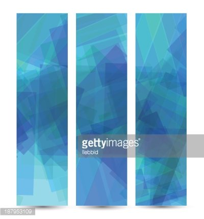 Abstract banner for your design