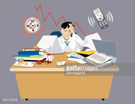 Businessman Stressed In His Premium Clipart Clipartlogo Com