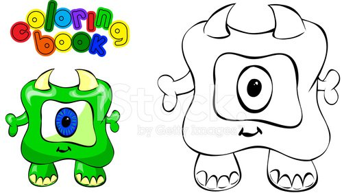 Coloring Book Monster Clipart 1 566 198 Clip Arts