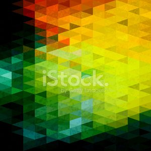 Trendy abstract geometric hipster pattern