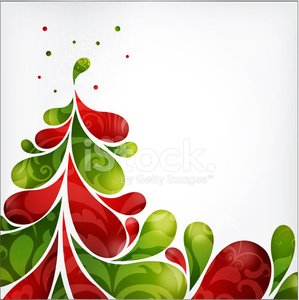 Abstract Christmas Tree Clipart Image 1 566 198 Clip Arts