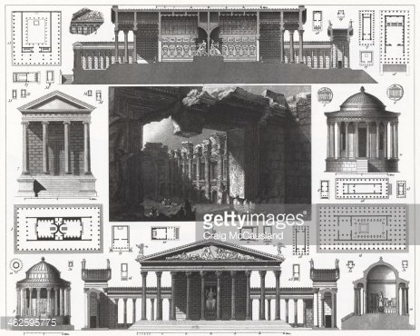 Engraving: Greek and Roman Architecture
