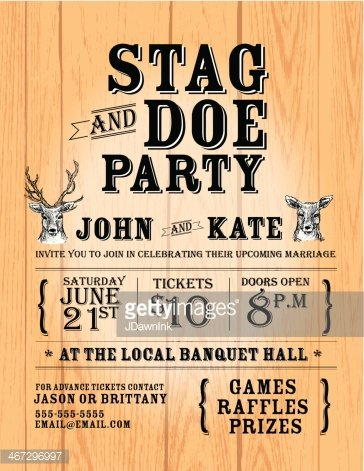 stag tickets template