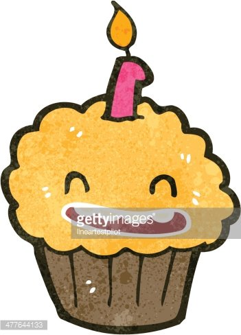 Vintage Cupcake Clipart, Transparent PNG Clipart Images Free Download -  ClipartMax