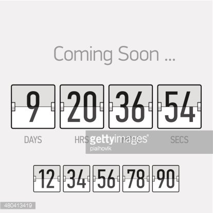 Coming Soon, countdown timer template