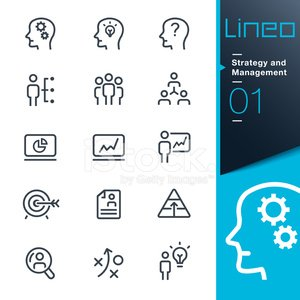 Lineo - Strategy and Management outline icons