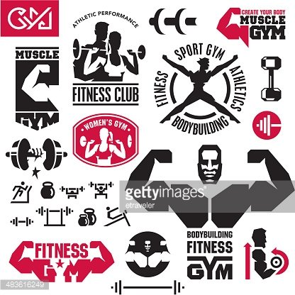 Fitness Gym Icons Clipart 1 566 198 Clip Arts