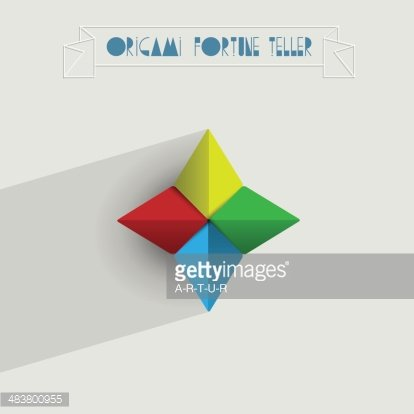 Paper fortune teller Fortune-telling Child Origami, make a fortune, game,  angle, child png | PNGWing | 414x414