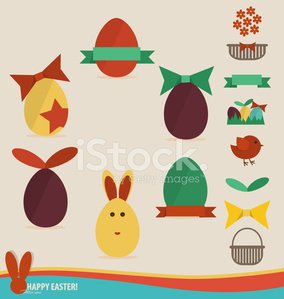 Happy easter cards with easter eggs concept holiday spr premium happy easter cards with easter eggs ribbon concept holiday spr m4hsunfo