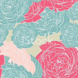 Muster floral seamless, EPS 10