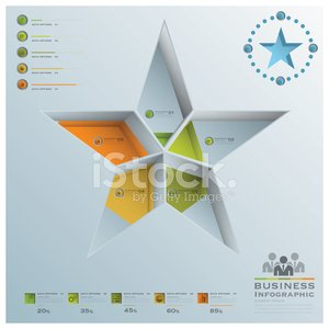 Star Shape Business Infographic