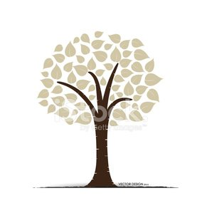 Abstract Tree Vector Illustration Clipart Image 1566198