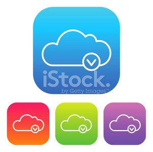 Superlight Interface Cloud Download Icon