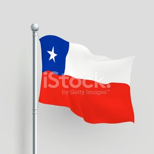 Chile Flag Clipart Texas - Bandera De Chile Ondeando   Full Size PNG  Download   SeekPNG