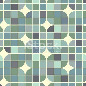 Vector colorful retro geometric background